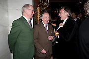GILBERT AND GEORGE, 56th London Evening Standard Theatre Awards. Savoy Hotel. London. 28 November 2010.  -DO NOT ARCHIVE-© Copyright Photograph by Dafydd Jones. 248 Clapham Rd. London SW9 0PZ. Tel 0207 820 0771. www.dafjones.com.