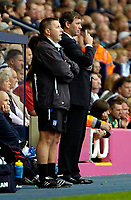 Photo: Ed Godden.<br />West Bromwich Albion v Colchester United. Coca Cola Championship. 19/08/2006. Colchester Manager Geraint Williams (L) and Albion Manager Bryan Robson (R).