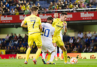 The players of Villarreal Vietto and Bruno Soriano in action during the match of Uefa Europa League, 3 day. (Photo: Alter Photos / Bouza Press / Maria Jose Segovia)