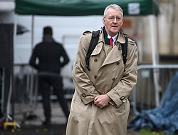 © Licensed to London News Pictures. 21/10/2019. London, UK. Labour MP HILARY BENN is seen in Westminster, London ahead of a radio interview. Last week Parliament sat on a Saturday for the first time since 1982, but failed to vote on Boris Johnson's new Brexit deal. Photo credit: Ben Cawthra/LNP