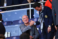 Didier DESCHAMPS / Walter KITA - 15.04.2015 - Paris Saint Germain / Barcelone - 1/4Finale Aller Champions League<br />