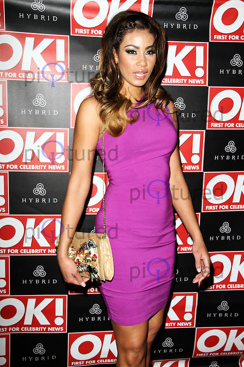 LONDON - FEBRUARY 22: Layla Flaherty attends the Hybrid and OK! Magazine London Fashion Week Party at the Jewel Bar, London, UK on February 22, 2012. (Photo by Richard Goldschmidt)