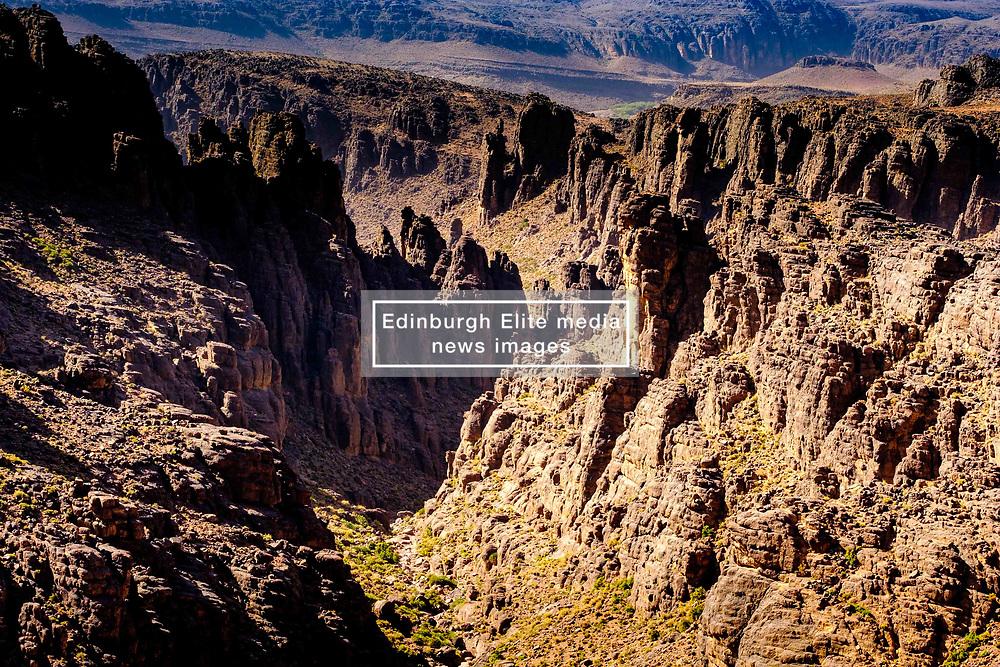 Mountain view from the Tizi N'Tazezert trail (piste) in southern Morocco<br /> <br /> (c) Andrew Wilson | Edinburgh Elite media