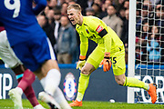 West Ham  (25) Joe Hart during the Premier League match between Chelsea and West Ham United at Stamford Bridge, London, England on 8 April 2018. Picture by Sebastian Frej.