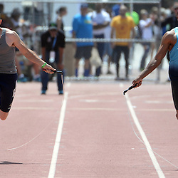 Athletes jump rope during the Mt. SAC Relays in Hilmer Lodge Stadium on the campus of Mt. San Antonio College in Walnut, Calif., on Saturday, April 19, 2014.