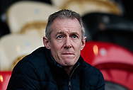 Wales coach Robert Howley attends the match<br /> <br /> Photographer Simon King/Replay Images<br /> <br /> Guinness Pro14 Round 11 - Dragons v Cardiff Blues - Tuesday 26th December 2017 - Rodney Parade - Newport<br /> <br /> World Copyright © 2017 Replay Images. All rights reserved. info@replayimages.co.uk - www.replayimages.co.uk
