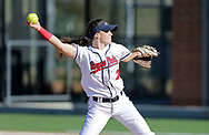 April 27, 2018: The Rogers State University Hillcats play against the Oklahoma Christian University Lady Eagles at Tom Heath Field at Lawson Plaza on the campus of Oklahoma Christian University.
