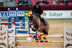 NAGEL Carsten Otto (GER), Rio Verdi 4<br /> Neustadt-Dosse - CSI 2019<br /> 2. Qualifikation Youngster Tour für 7 und 8 jährige Pferde<br /> 11. Januar 2019<br /> © www.sportfotos-lafrentz.de/Stefan Lafrentz