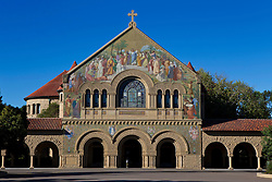 Memorial Church, on the main quad, Stanford University, Stanford, California, United States of America