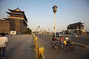 Tian'anmen Square (Place of Heavenly Peace). Quianmen (Front Gate) at the southern tip.