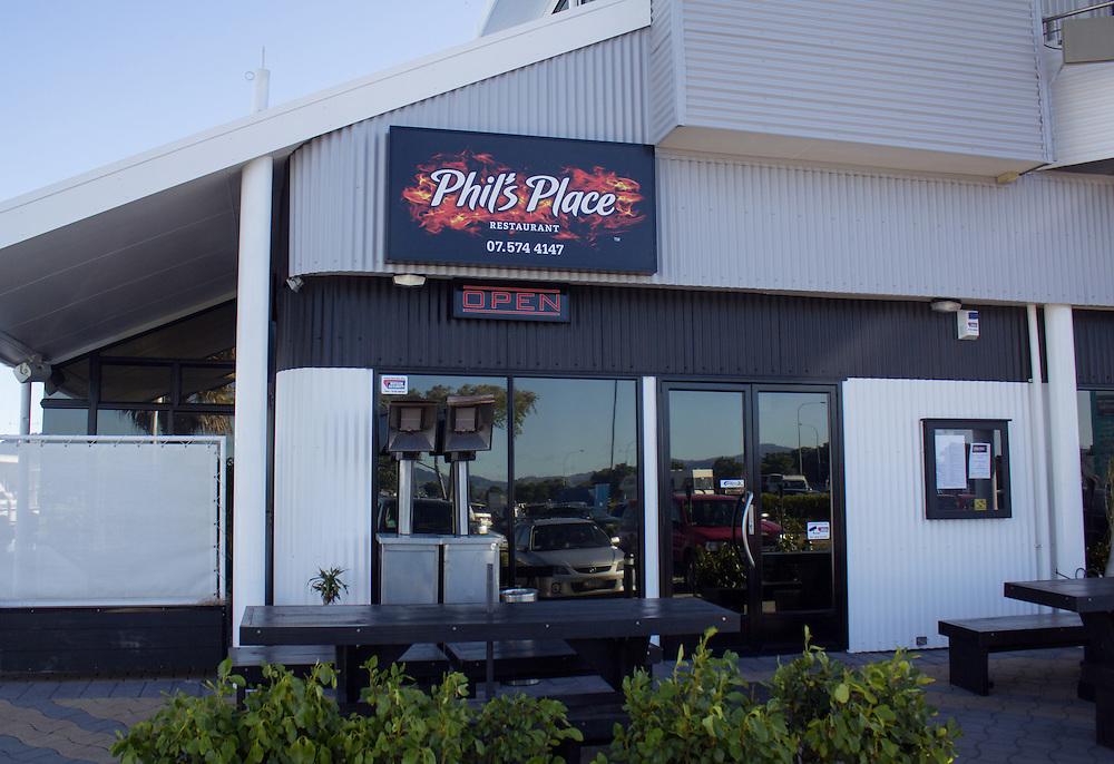 AC/DC drummer Phil Rudd's restaurant, Phil's Place, Tauranga, New Zealand, Monday, November 03, 2014. Credit:SNPA / Cameron Avery