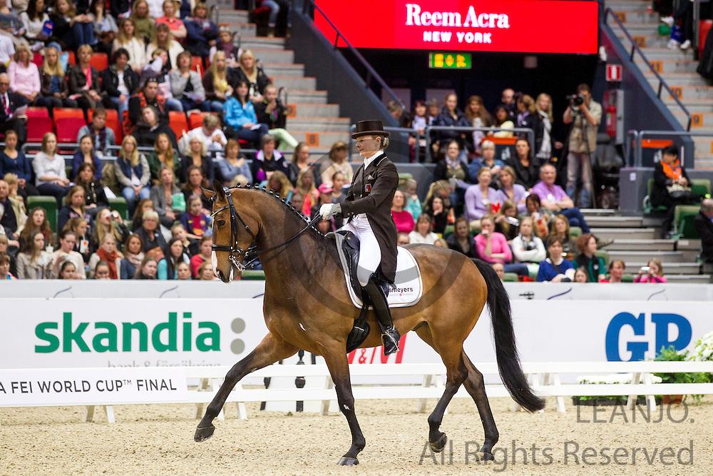 Marcela Krinke Susmeij - Smeyers Molberg<br /> Reem Acra FEI World Cup Final 2013<br /> &copy; DigiShots
