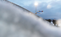 09.03.2018, Holmenkollen, Oslo, NOR, FIS Weltcup Ski Sprung, Raw Air, Oslo, im Bild Ryoyu Kobayashi (JPN) // Ryoyu Kobayashi of Japan during the 1st Stage of the Raw Air Series of FIS Ski Jumping World Cup at the Holmenkollen in Oslo, Norway on 2018/03/10. EXPA Pictures © 2018, PhotoCredit: EXPA/ JFK