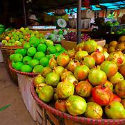 Stall at Vietnamese market at Sa Pa region