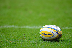 Aviva Premiership rugby ball - Mandatory by-line: Dougie Allward/JMP - 26/02/2017 - RUGBY - Ashton Gate - Bristol, England - Bristol Rugby v Bath Rugby - Aviva Premiership