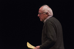 December 2, 2016 - Berkeley, United States - U.S. Senator Bernie Sanders discusses his book ''Our Revolution'' to a crowd at University of California Berkeley's Zellerbach Auditorium on December 2, 2016. (Credit Image: © Yichuan Cao/NurPhoto via ZUMA Press)