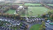 Aerial Photo Shankill Beach, Shanganagh, Cemetery, FC, Cuala, GAA, DLRC Cricket Club, M11, N11, Bray, Castle, Bray, Co Wicklow,