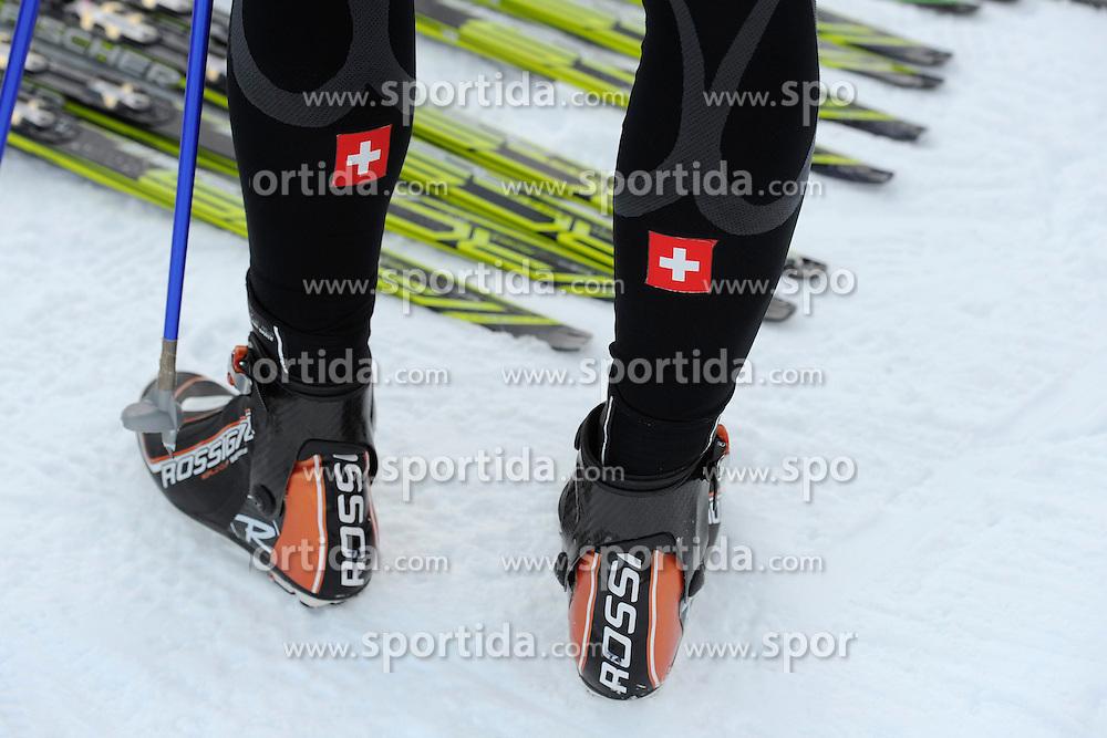 31.12.2012, Nordische Arena, Val Muestair, SUI, FIS Langlauf Weltcup, Tour de Ski 2013, Training, im Bild, Features // during practice of Tour de Ski 2013 of the FIS cross country world cup at nordic arena in Val Muestair, Switzerland on 2012/12/31. EXPA Pictures © 2013, PhotoCredit: EXPA/ Freshfocus/ Urs Lindt..***** ATTENTION - for AUT, SLO, CRO, SRB, BIH only *****