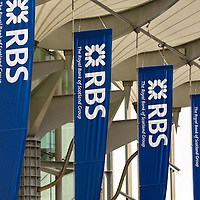 Edinburgh  April 22 - Edinburgh EICC ahead or RBS  AGM on Wednesday .  Royal Bank of Scotland on Tuesday became the latest lender to seek new funds to cover its soured investments, saying it would sell £12 billion of new shares to current investors as it seeks to restore its capital base.