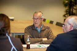 Govaerts Jef, Corty Peter, Van Vuchelen Patrick, (BEL)<br /> Reportage veulen controleurs BWP - Oud Heverlee 2015<br /> © Dirk Caremans<br /> 28/10/15