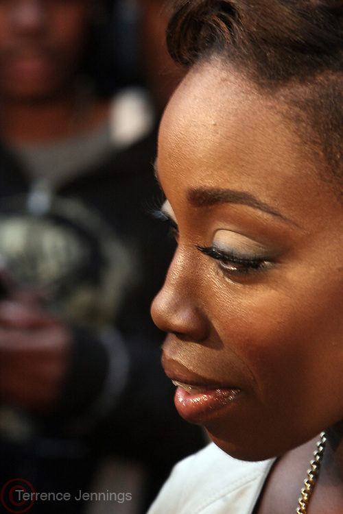 Estelle at the BET Networks and Paramount special screening of Indiana Jones and the Kingdom of the Crystal Skull at The Magic Johnson Theater in Harlem, NYC on May 20, 2008
