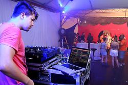 Dj Wesley Ruschel no madam Club do Planeta Atlântida 2013/RS, que acontece nos dias 15 e 16 de fevereiro na SABA, em Atlântida. FOTO: Itamar Aguiar/Preview.com