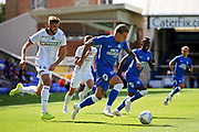 Peterborough United forward Jason Cummings (35) surges forward during the Pre-Season Friendly match between Peterborough United and Bolton Wanderers at London Road, Peterborough, England on 28 July 2018. Picture by Nigel Cole.