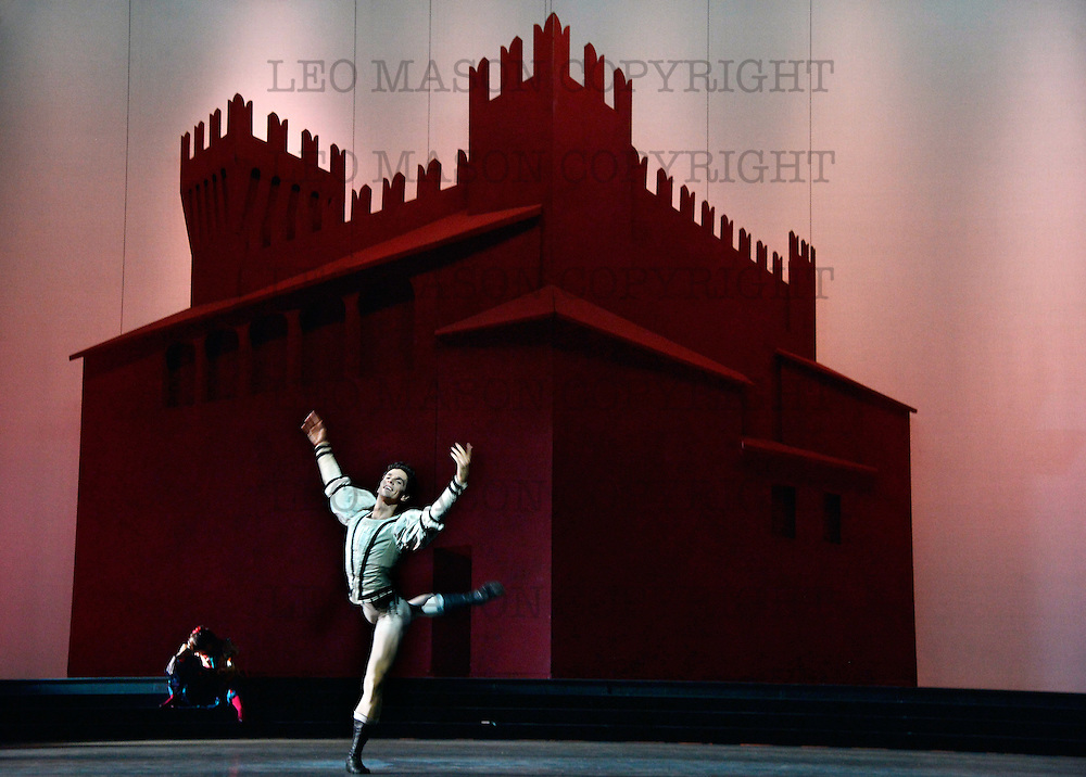 17.04.2013 National Ballet of Canada <br /> Romeo &amp; Juliet Sadlers Wells Theatre London UK<br /> Romeo (Guillaume Cote)