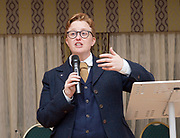 Stonewall and Liberal Democrats LGBTQ fringe meeting.<br /> Bournemouth, Great Britain <br /> 17th September 2017. <br /> <br /> Ruth Hunt <br /> Chief Executive of Stonewall <br /> <br /> <br /> <br /> Photograph by Elliott Franks <br /> Image licensed to Elliott Franks Photography Services