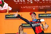 Podium Rohan Dennis (AUS - BMC) during the 101th Tour of Italy, Giro d'Italia 2018, stage 16, Trento - Rovereto 34.5 km on May 22, 2018 in Italy - Photo Luca Bettini / BettiniPhoto / ProSportsImages / DPPI