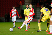 Alister Crawford of Doncaster Rovers during the EFL Sky Bet League 1 match between Doncaster Rovers and Bristol Rovers at the Keepmoat Stadium, Doncaster, England on 26 March 2019.