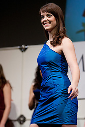 Masa Anzur during event Miss Sports of Slovenia 2012, on April 21, 2012, in Festivalna dvorana, Ljubljana, Slovenia. (Photo by Urban Urbanc / Sportida.com)