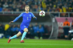November 14, 2017 - Bucharest, Romania - JoÃ«l Veltman (Ned) during the International Friendly match between Romania and Netherlands at National Arena Stadium in Bucharest, Romania, on 14 november 2017. (Credit Image: © Alex Nicodim/NurPhoto via ZUMA Press)