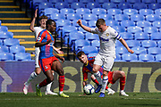 Leif Davis of Leeds United U23 during the U23 Professional Development League match between U23 Crystal Palace and Leeds United at Selhurst Park, London, England on 15 April 2019.