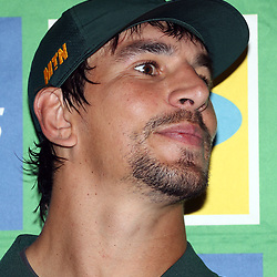 DURBAN, SOUTH AFRICA - AUGUST 16: Eben Etzebeth during the South African national rugby team announcement at  Garden Court Umhlanga on August 16, 2018 in Durban, South Africa. (Photo by Steve Haag/Gallo Images)