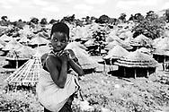Uganda flygtningelejr i Norduganda<br /> <br /> Omiya Anyima camp
