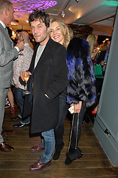 BARRY & KIM REIGATE at the Duresta For Matthew Williamson Exclusive Launch At Harrods, Knightsbridge, London on 10th March 2016.