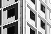 Abstract photo of building façade NYC. 2010