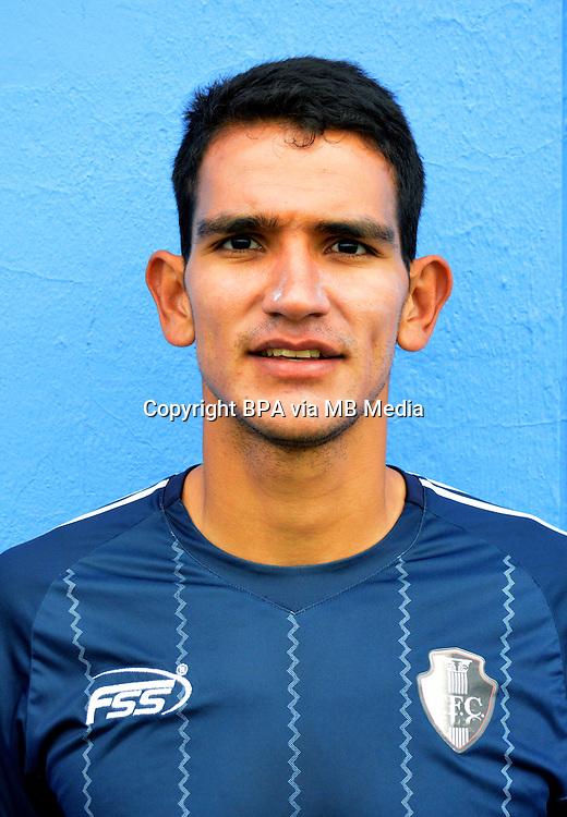 Colombia League - Postobom Liga 2014-2015 -<br /> Fortaleza Futbol Club  - Colombia / <br /> Norbey Salazar