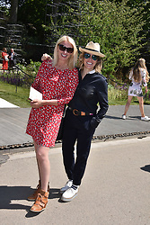 Left to right, Anneke Rice and Cerys Matthews at the RHS Chelsea Flower Show Press Day, Royal Hospital Chelsea, London England. 22 May 2017.<br /> Photo by Dominic O'Neill/SilverHub 0203 174 1069 sales@silverhubmedia.com
