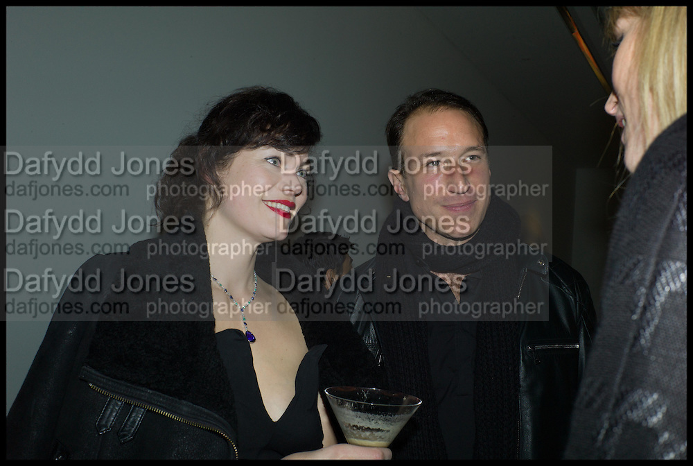 JASMINE GUINNESS; PETROC SESTI, Julia Peyton-Jones, Hans Ulrich Obrist and Coach host the Serpentine Future Contemporaries Party. Serpentine Sackler Gallery. Kensington Gdns. London. 21 February 2015