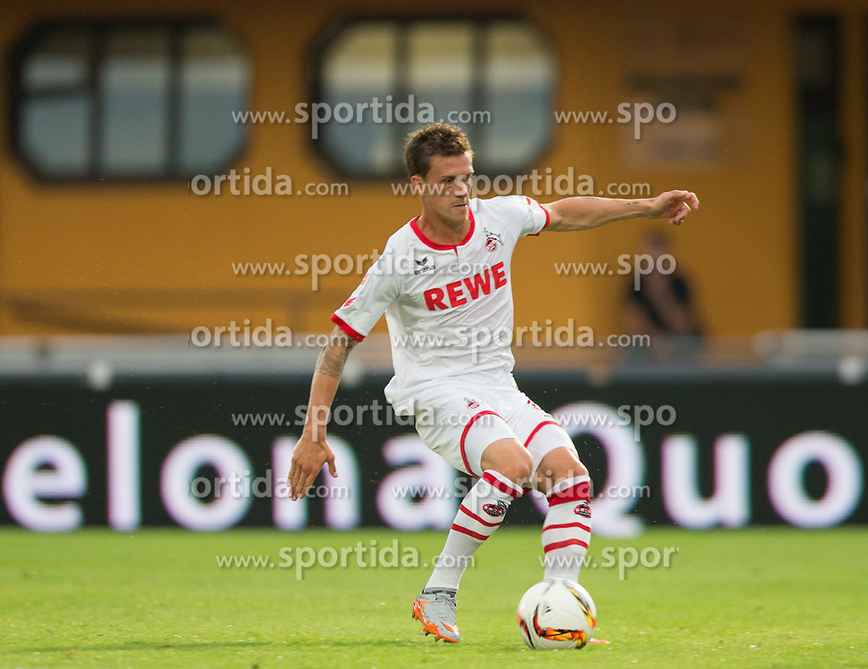 22.07.2015, Grenzland Stadion, Kufstein, AUT, Testspiel, 1. FC Köln vs RCD Espanyol Barcelona, im Bild Simon Zoller (1. FC Koeln) // during the International Friendly Football Match between 1. FC Cologne and RCD Espanyol Barcelona at the Grenzland Stadion in Kufstein, Austria on 2015/07/22. EXPA Pictures © 2015, PhotoCredit: EXPA/ Johann Groder