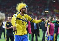 FUSSBALL: UEFA  U21-EUROPAMEISTERSCHAFT  2015  FINALE Schweden - Portugal     30.06.2015  Schweden ist Europameister: Isaac Kiese Thelin (Schweden) bejubelt den Sieg ueber Portugal