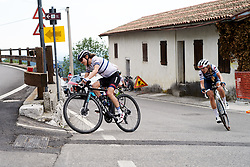 Omer Shapira (ISR) on the final climb of the day during Stage 8 of 2019 Giro Rosa Iccrea, a 133.3 km road race from Vittorio Veneto to Maniago, Italy on July 12, 2019. Photo by Sean Robinson/velofocus.com
