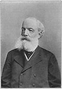 Friedrich August Kekule von Stradonitz (1829-1896), German organic chemist, c1885.