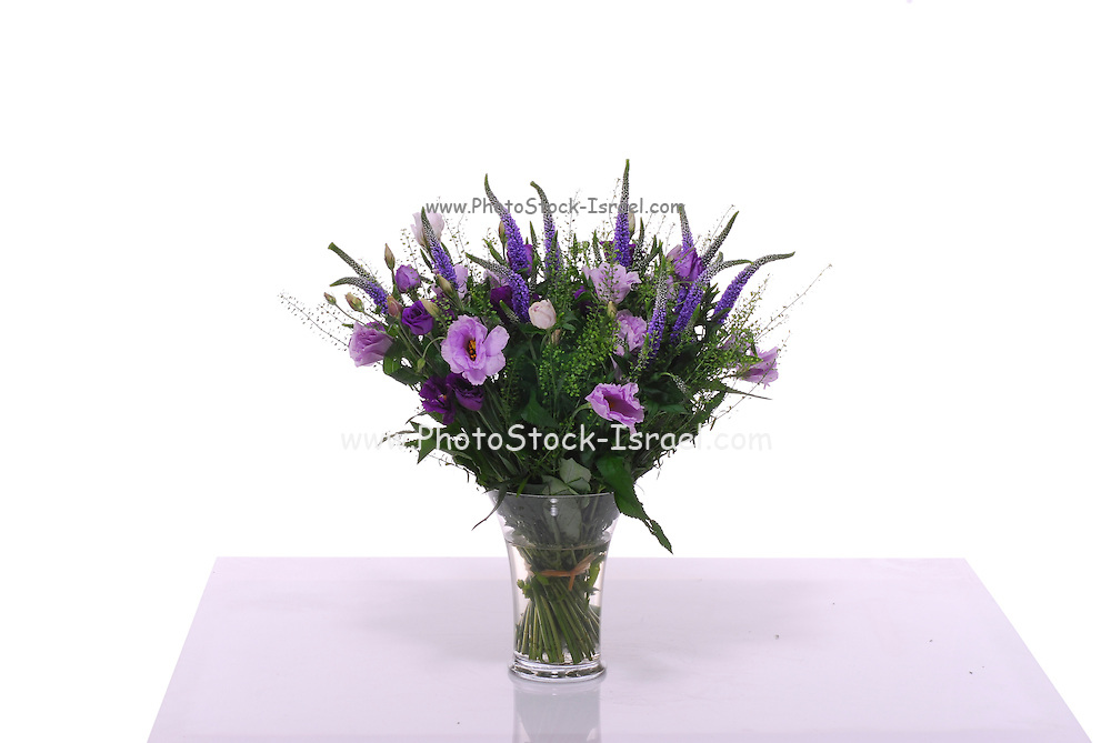 flower bouquet On white background