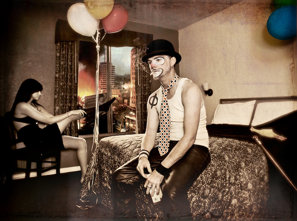 Fear and Loathing in LA with DumpsterHeart The Clown