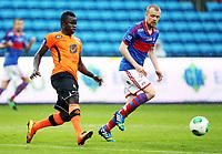 Fotball , 26. juni 2013 , Tippeligaen ,4. runde NM cup herrer <br /> Vålerenga - Sogndal<br /> Christian Grindheim, VIF<br /> Malick Mane , Sogndal