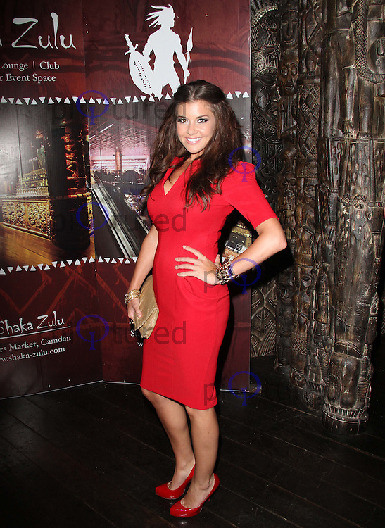 Imogen Thomas Shaka Zulu 1st Birthday Party, The Stable Market, Camden Town, London, UK, 04 August 2011:  Contact: Rich@Piqtured.com +44(0)7941 079620 (Picture by Richard Goldschmidt)