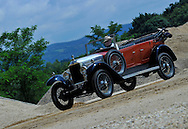10/08/13 - MARINGUES - PUY DE DOME - FRANCE - Essais VAUXHALL Type 1440 de 1925 - Photo Jerome CHABANNE